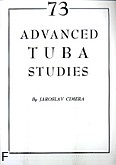 Ok�adka: Cimera Jaroslav, 73 advanced tuba studies