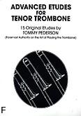 Okładka: Pederson Tommy, Advanced etudes for tenor trombone