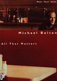 Okładka: Bolton Michael, All that matters