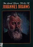Ok�adka: Brahms Johannes, The great piano works of