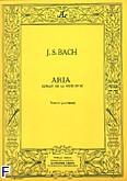 Okładka: Bach Johann Sebastian, Aria (extrait suite en re)