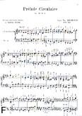 Okładka: Beethoven Ludwig van, Prelude circulaire op. 39 nr 2 /orgue