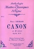 Ok�adka: Schumann Robert, Canon h-moll Op. 56 nr 5