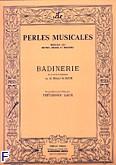 Okładka: Bach Johann Sebastian, Badinerie (extr.suite si min.)