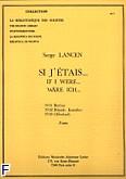 Okładka: Lancen Serge, Si j'etais (nr 31 Berlioz/nr 32 Rimski-Korsakov/nr 33 Offenbach)