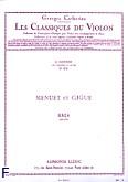 Okładka: Bach Johann Sebastian, Menuet et Gigue