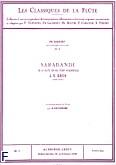 Ok�adka: Bach Johann Sebastian, Classique flute n004 suite en sol pour violoncelle:sarabande