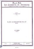 Ok�adka: Bach Johann Sebastian, Suite d'orchestre en ut: Bourree