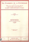 Okładka: Bach Johann Sebastian, Bourrée extraite de la Suite nr 3 pour violoncelle