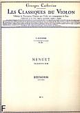 Okładka: Boccherini Luigi Rodolpho, Quintette en mi - menuet