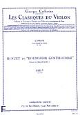 Ok�adka: Lully Jean-Baptiste, Ballets du roi: Menuet du Bourgeois Gentilhomme