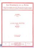 Ok�adka: Mozart Wolfgang Amadeusz, Classique flute n039 cosi fan tutte:ariette