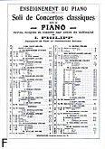 Ok�adka: Haydn Franz Joseph, Concerto op. 21 piano
