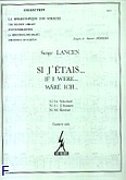 Okładka: Lancen Serge, Si j'etais 34, 35, 36
