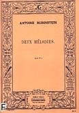 Okładka: Rubinstein Antoni, 2 melodies op3 n01 piano