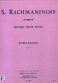 Okładka: Rachmaninow Sergiusz, Humoreske Op.10 nr 5