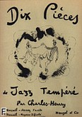 Ok�adka: Charles Henry, 10 pieces de jazz tempere volume 1 piano
