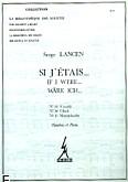 Ok�adka: Lancen Serge, Si j'etais (nr 13 Vivaldi/nr 14 Gluck/nr 15 Mendelssohn)