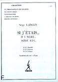 Okładka: Lancen Serge, Si j'etais 22, 23, 24