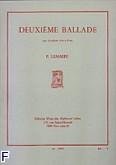 Okładka: Lemaire Felix, Ballade nr 2