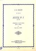Ok�adka: Bach Johann Sebastian, Suite nr 1 BWV 996