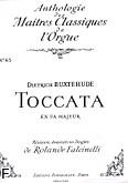 Okładka: Buxtehude Dietrich, Toccata en fa majeur(grande)/orgue