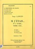 Okładka: Lancen Serge, Si j'etais (biblioteka solisty)/contrebasse et piano (nr 65)