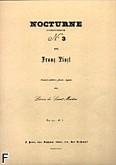 Okładka: Liszt Franz, Nocturne nr 3 orgue