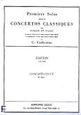 Okładka: Haydn Franz Joseph, Concerto C