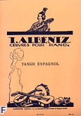 Ok�adka: Alb�niz Isaac, Tango Espagnol en la mineur