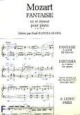 Okładka: Mozart Wolfgang Amadeusz, Fantaisie d-mol (k397)