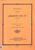 Okładka: Mozart Wolfgang Amadeusz, Andante en ut flute et piano