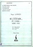 Okładka: Lancen Serge, Si j'etais 1, 2, 3