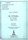 Okładka: Lancen Serge, Si j'etais 19, 20, 21