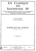 Okładka: Händel George Friedrich, Sonate en sol mineur