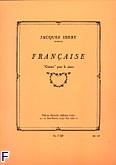 Okładka: Ibert Jacques, Francaise