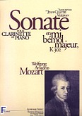 Okładka: Mozart Wolfgang Amadeusz, Sonate k302 Es-dur