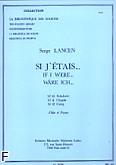 Okładka: Lancen Serge, Si j'etais (n010 schubert/n011 chopin/n012 grieg)/flute et piano (lm066)