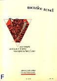 Okładka: Ravel Maurice, Piece en forme de habanera trompette en ut ou sib et piano