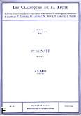 Okładka: Bach Johann Sebastian, Sonate nr 03 (A) BWV 1032