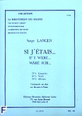 Okładka: Lancen Serge, Si j'etais - biblioteka solisty nr 64 (nr 4 Couperin/nr 5 Verdi/ nr 6 Albeniz)