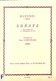 Okładka: Händel George Friedrich, Sonate clarinette sib et piano