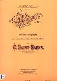 Okładka: Saint-Saëns Camille, Romance op. 67 cor en fa ou mi (ou violoncelle) et piano