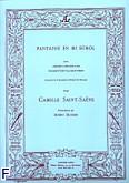 Okładka: Saint-Saëns Camille, Fantaisie en mib version b:trompette ut et piano