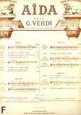 Okładka: Verdi Giuseppe, Aida nr 2 Romanza chant et piano