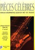 Okładka: Bach Johann Sebastian, Pieces celebres volume 1