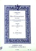 Okładka: Mendelssohn-Bartholdy Feliks, Duo concertant op114 re mineur 2 clarinettes