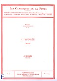 Okładka: Bach Johann Sebastian, Sonate nr 1 (si mineur)
