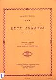 Ok�adka: H�ndel George Friedrich, 2 Sonates pour hautbois et piano