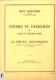 Okładka: Bernard Paul, 12 pieces melodiques volume 1
